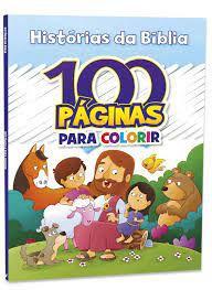 100 Paginas P/colorir Historias Da Biblia - Bicho
