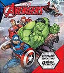 Marvel Aprender Brincando Avengers - Bicho Esperto