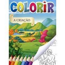 Solapa C/8 Colorir Biblia - Bicho Esperto