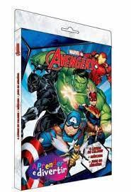 Marvel Aprender E Divertir Avengers - Bicho