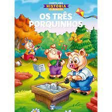 Conte Uma Historia Classico Tres Porquinhos -bicho