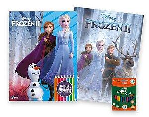Disney Kit Diversao Frozen Ii - Bicho Esperto