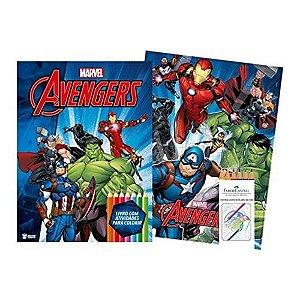 Marvel Kit Diversao Avengers - Bicho Esperto