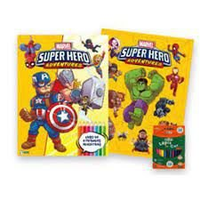 Marvel Kit Diversao Super Hero - Bicho Esperto