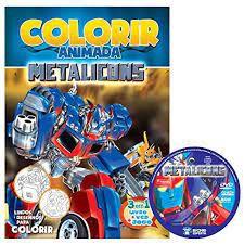 Colorir Animada - Metalicons - Bicho Esperto
