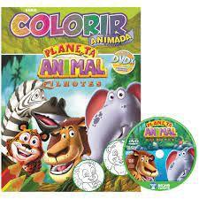 Colorir Animada - Planeta Animal - Bicho Esperto