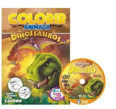 Colorir Animada - Dinossauros - Bicho Esperto