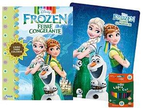 Disney Kit Diversao Frozen Febre Congelante -bicho