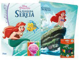 Disney Kit Diversao Pequena Sereia - Bicho Esperto