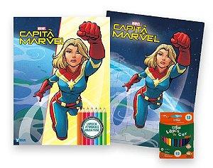 Marvel Kit Diversao Capita Marvel - Bicho Esperto
