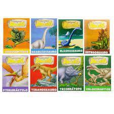Solapa C/8 Dinossauros - Bicho Esperto