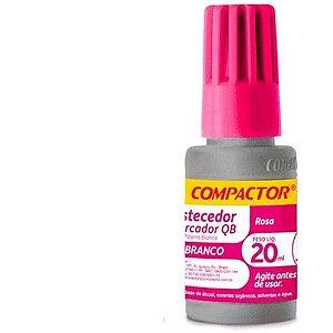 Reabastecedor P/marcador Qb 20ml Rosa - Compactor