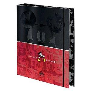 Caderno Fichario Argolado 1/4 48f Mickey - Dac