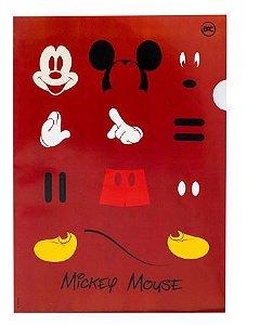 Pasta Em L Cartao Mickey - Dac
