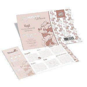 Refil P/caderno12f Anotacoes Minnie - Dac