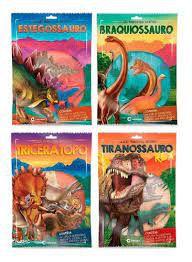 Dinossauros Incriveis Sortido 4 Capas - Culturama