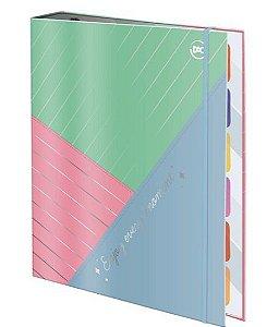 Caderno Fichario Argolado 1/4 48f Enjoy - Dac