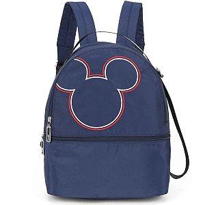 Bolsa Feminina Mickey Mouse Nylon Az Escuro-luxcel