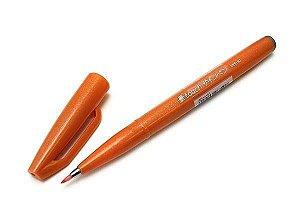 Brush Pen Sign Laranja - Pentel
