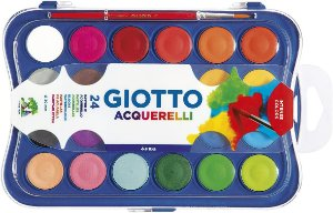 Aquarela Giotto 30mm 24 Cores - Canson