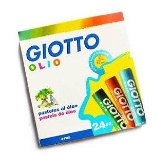 Giz Pastel Oleoso Giotto 24 Cores - Canson
