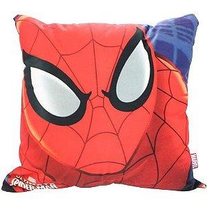 Almofada 40x40cm Fibra Veludo Spider Man- Zona