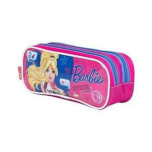 Estojo 02 Comp Barbie 17z - Sestini