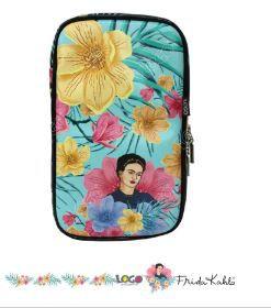 Necessaire E100 Estampa Frida Kahlo Tiffany - Logo