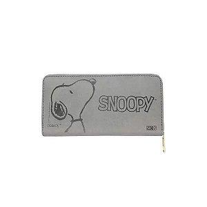Carteira 19x9cm C/relevo Smile Snoopy - Zona