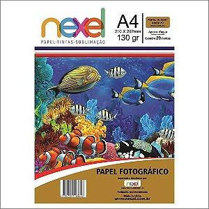 Papel Fotog A4 130g 20f Adesivo Sublimacao - Nexel