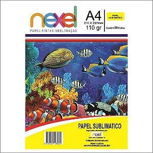 Papel Fotog A4 110g 50f Sublimatico - Nexel