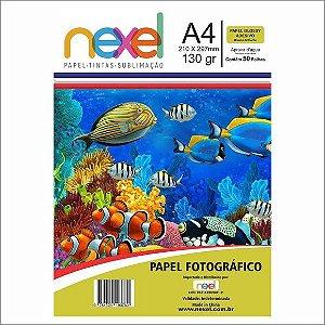 Papel Fotog A4 130g 50f Adesivo Sublimacao - Nexel