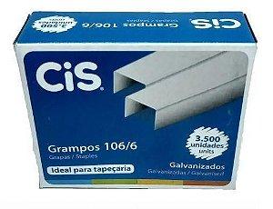 Grampo 106/6 C/3500 Galvanizado - Cis