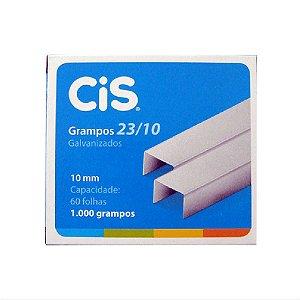Grampo 23/10 C/1000 Galvanizado - Cis