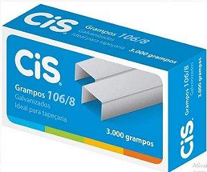 Grampo 106/8 C/3000 Galvanizado - Cis