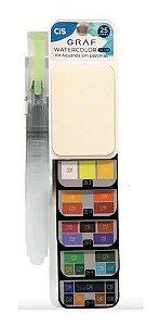 Estojo C/25 Graf Watercolor Slim Sortido - Cis