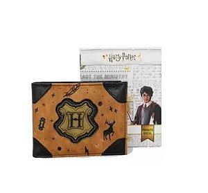 Carteira De Couro Hogwarts Harry Potter - Zona