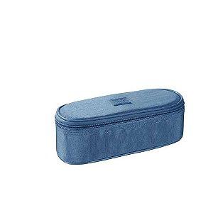 Estojo Bau Fluor Mix Azul - Foroni