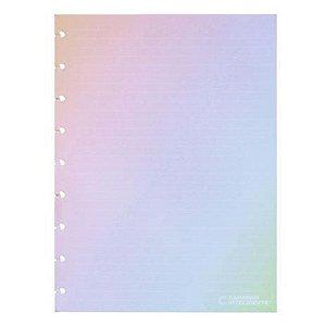 Refil Medio Rainbow Pautado 90g - Caderno Intelige