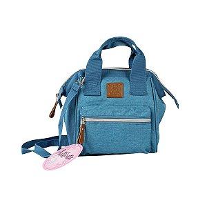 Bolsa Mommy Bag Lote 2154 Pequena Azul - Clio