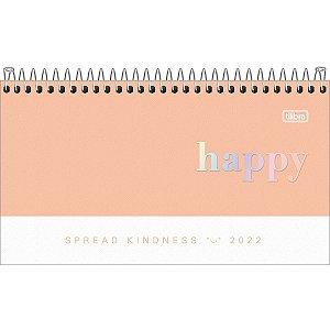 Agenda Esp M2 C/bolso Happy - Tilibra