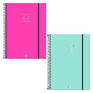 Agenda Esp M9 Planner Neon Rosa - Tilibra