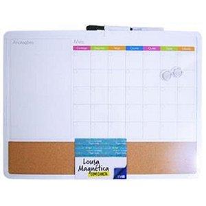 Planner Mensal Magnetico C/caneta - Imporiente