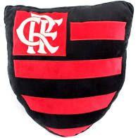 Almofada Pelucia Escudo Flamengo - Mileno
