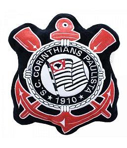 Almofada Pelucia Escudo Corinthians - Mileno