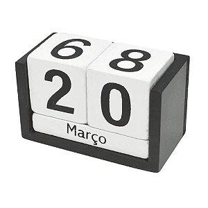 Calendario 7x8x13cm Madeira - Gdr