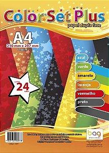 Papel A4 85g 45f Toninho 9 Cores - Bahia