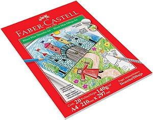 Bloco A4 20f 140g Max Desenho - Faber Castell
