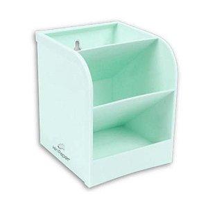 Organizador Mesa Plastico 3 Div Sortido - Winpaper