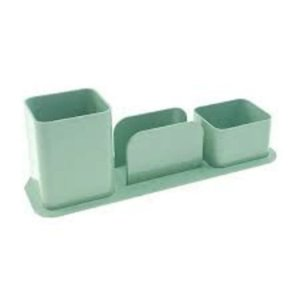 Porta Canetas Triplo Verde - Dello